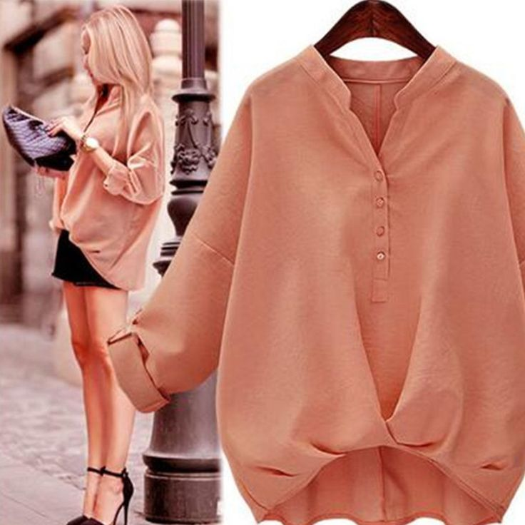 Fashion Women Autumn Blouse Top T-Shirt Long Sleeve Hooded Solid Loose Pullover