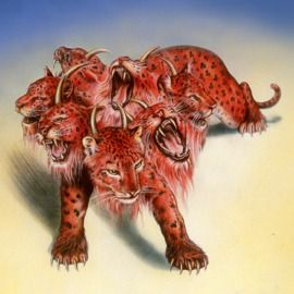 The scarlet-colored wild beast of Revelation chapter 17 Keys to identifying the scarlet-colored beast
