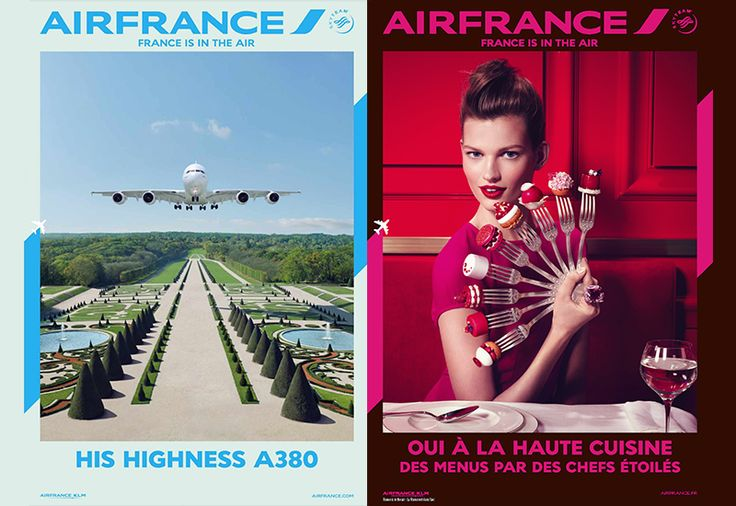 Stunning Air France Ads are Ready for Take Off