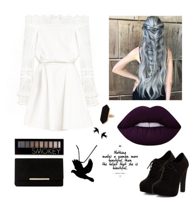 """Untitled #9"" by nastja-pessi on Polyvore featuring New Look, Lime Crime, Jaeger, Forever 21 and Dune"