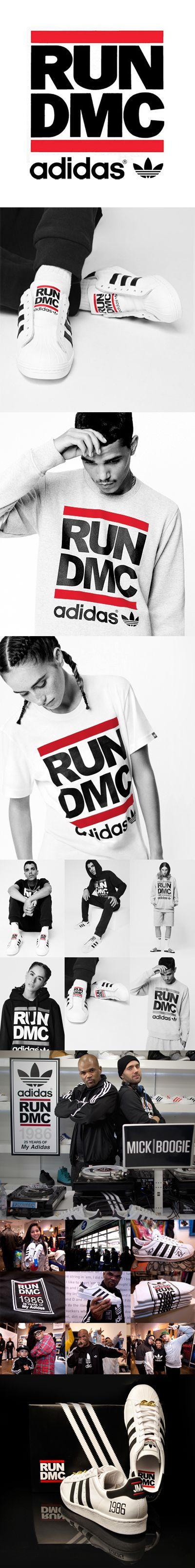 Co-Branding // RUM-DMC + Adidas