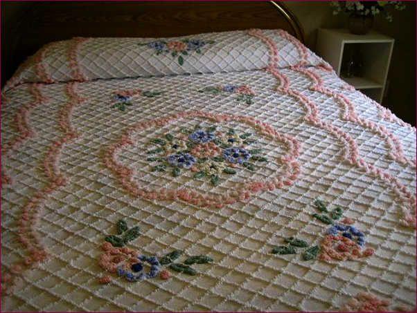 Hand Crochet King Bedspread