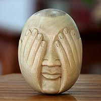 See No Evil from @NOVICA, They help #artisans succeed worldwide.