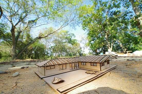 #Maqueta #madera #casacampestre #aguachica