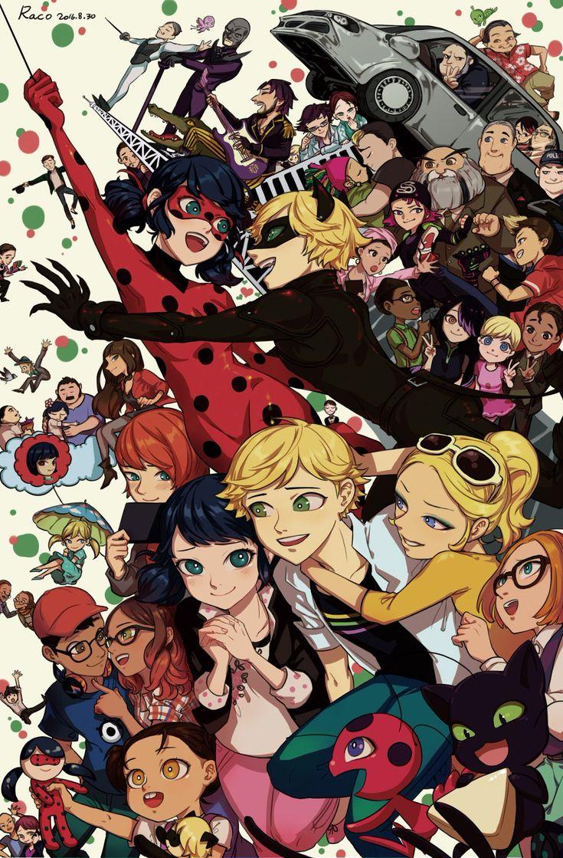 Todos esos personajes nos acompañaron la primera temporada. Qué recuerdos... Snif :'3