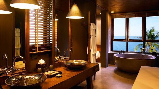17 best images about thai style bathrooms on pinterest thai house guesthouse hotel and teak Japanese bathroom interior design
