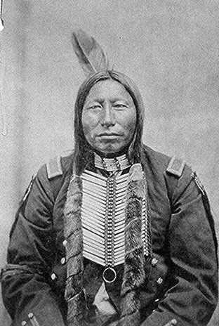 Crow King was a Hunkpapa Sioux war chief at the time of the Battle of Little Big Horn