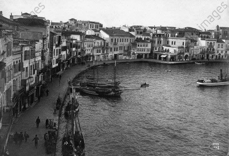 1911 Λιμάνι Χανίων. http://blog.mantinades.gr/