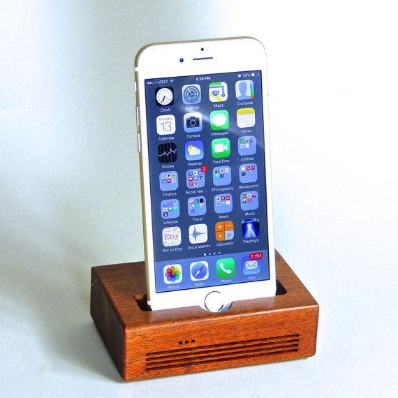 iPhone 6 Docking Station  The CONCERT  Speaker by SchuttenWorks