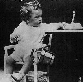 """Charles Lindbergh Jr., the """"Lindbergh baby"""", who was kidnapped and murdered in 1932"""