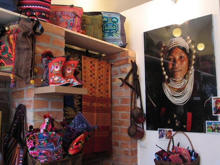 Wnętrze Etno Butiku