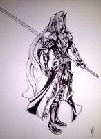 Sephiroth by CloudXtrife