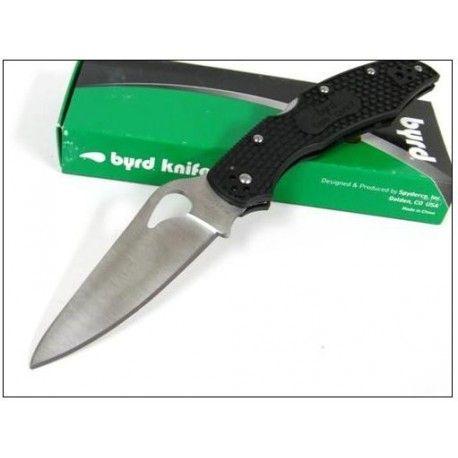 COUTEAU SPYDERCO BYRD Black FRN Cara Cara 2 Knife BY03PBK2 Acier 8Cr13MoV