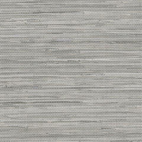 Dark Grey Faux Grasscloth Wallpaper Dining Room Pinterest