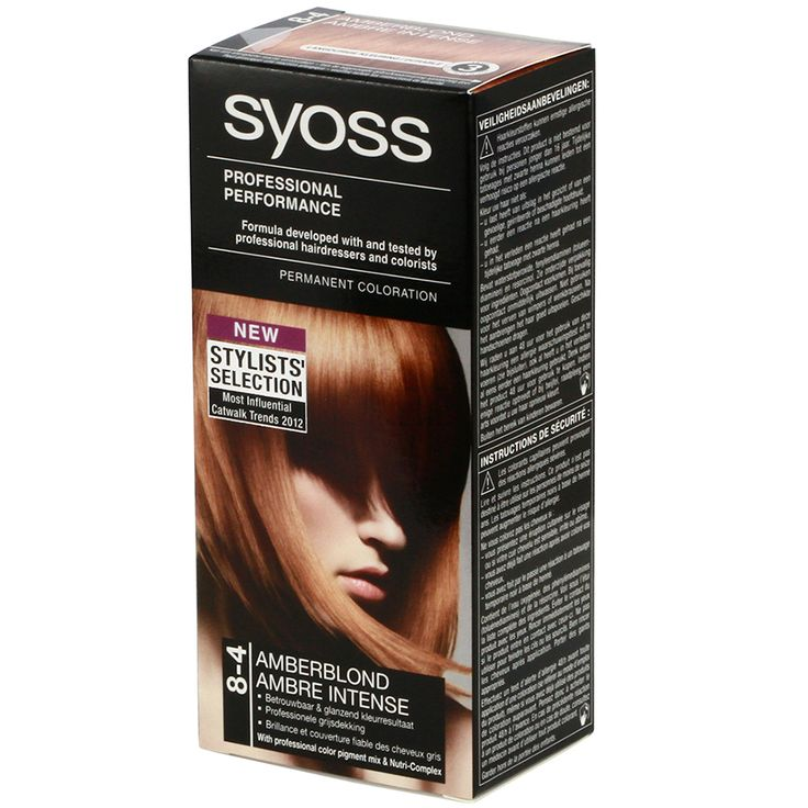 Syoss Hair Color Cream 8-4 Amberblonde Amber Intense - https://www.transfashions.com/en/beauty-health/hair-care/hair-colors/syoss.html #Syoss #Haircolor Cream 8-4 Amberblonde Amber Intense gives a perfect natural deep-black color full of shine. SYOSS The high quality formula seals the professional color pigment mix deep in the hair for a long and...