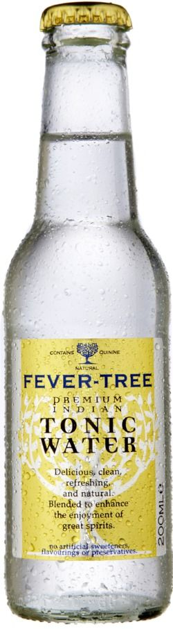 Tonic Water, Premium Tonic Water, Natural Tonic, Best Tonic Water, Gin & Tonic, Fever-Tree