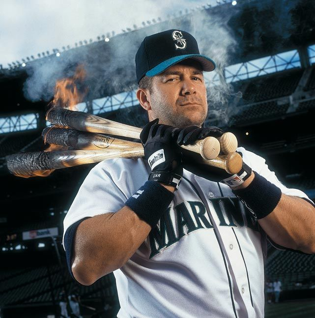 This could be the manliest picture of all time. -  Edgar Martinez