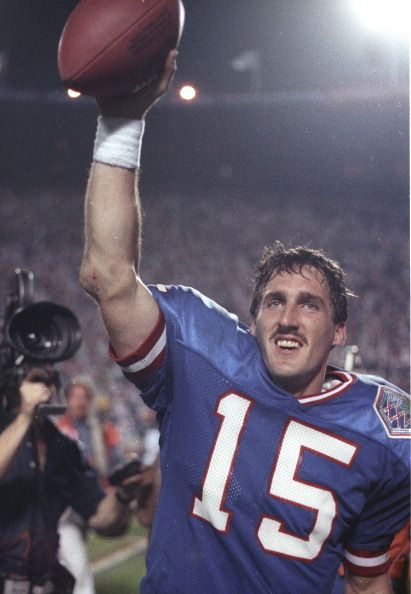 Jan 27 1991  New York Giants JEFF HOSTETLER against Buffalo Bills in Super Bowl 25 at Tampa Stadium