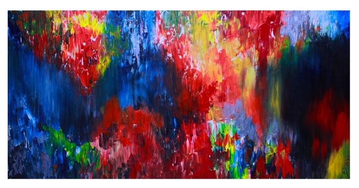 Untitled 66, 24x48, acrylic on canvas