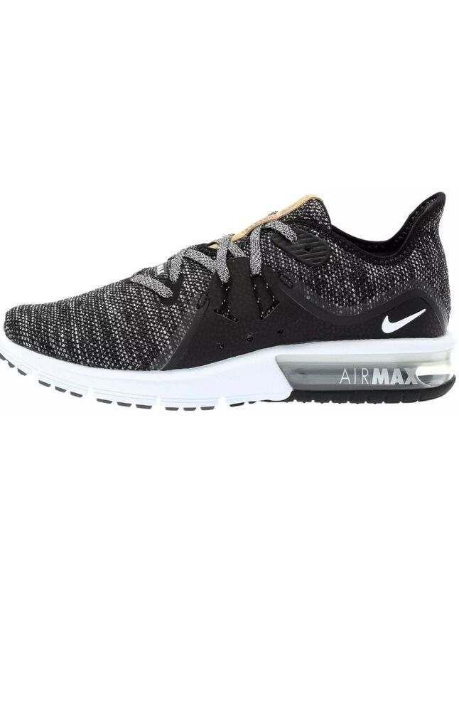 new style fcb83 0170f Nike AIR MAX SEQUENT 3 Womens Black Dark Grey 908993-011 Athletic Running  Shoes - Nike Airs (This is a link to Amazon and as an Amazon Associate I  earn from ...