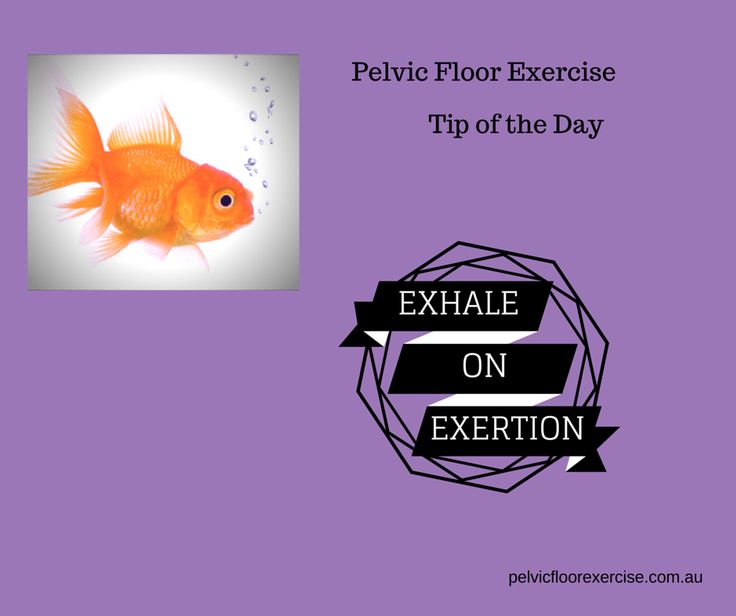 Exhale on Exertion