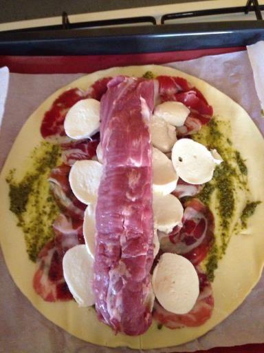 Filet mignon en croute à l'italienne