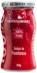 Geleia Queensberry de Framboesa 100% Fruta.