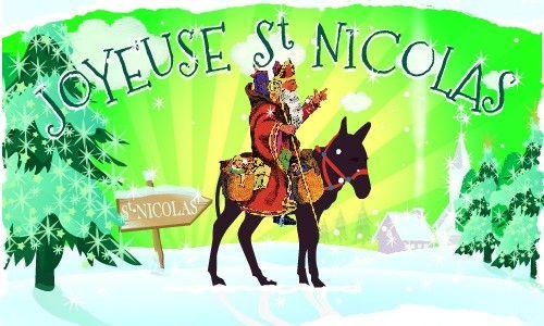Carte virtuelle : Joyeuse St Nicolas, CyberCartes