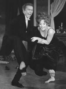 """Harve Presnell and Tammy Grimes in """"The Unsinkable Molly Brown,'' which ran on Broadway."""