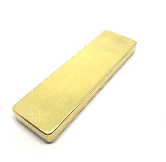 Brass Pen Case Brass Pencil Case PJ055 by Callicrafty on Etsy