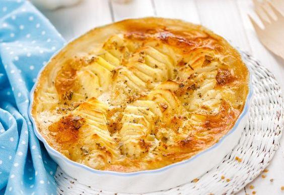 Prepară cartofi cu brânză gratinați precum Jamie Oliver. VIDEO | Click! Pofta Buna!