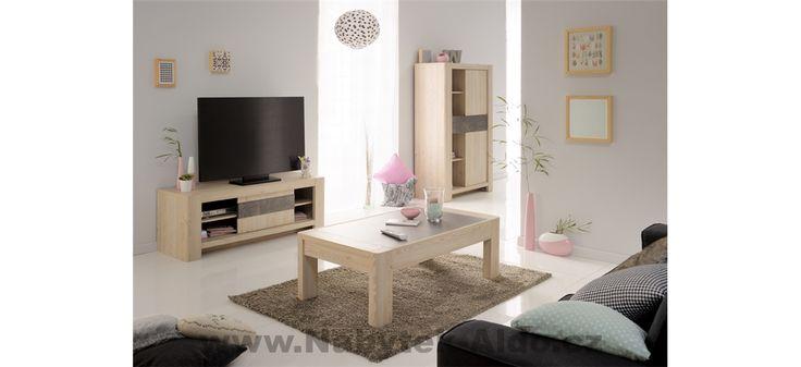Televizní stolek Chris jako součást obývacího pokoje