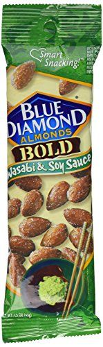 Blue Diamond Almonds Wasabi and Soy 15 Ounce Pack of 12 >>> Click on the image for additional details.