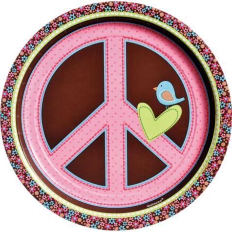 Peace Sign party decor