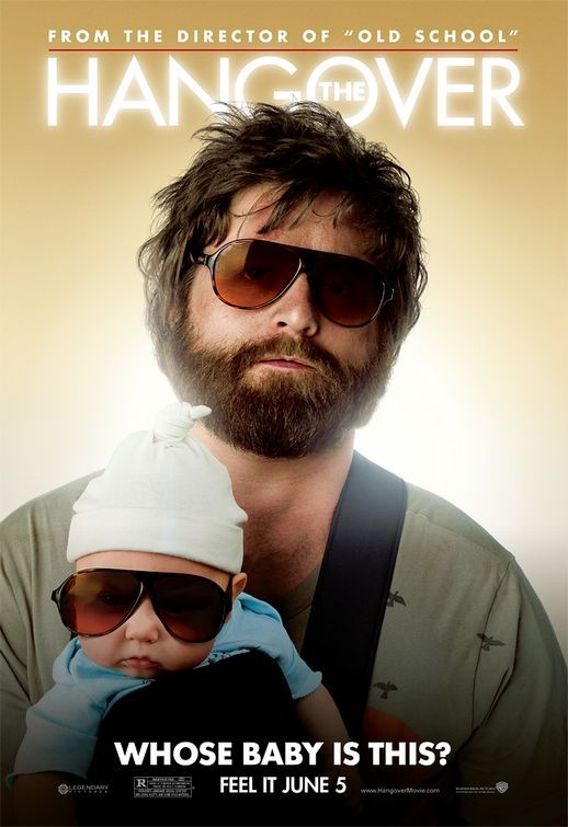 The Hangover , starring Zach Galifianakis, Bradley Cooper, Justin Bartha, Ed Helms. Three buddies wake up from a bachelor party in Las Vegas, with no memory of the previous night and the bachelor missing. They make their way around the city in order to find their friend before his wedding. #Comedy