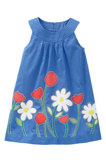 Mini Boden Trapeze Dress (Toddler) | Nordstrom