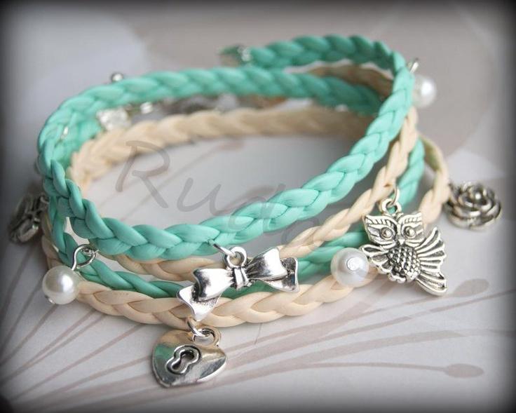 Hand made bracelets by Ruda S.