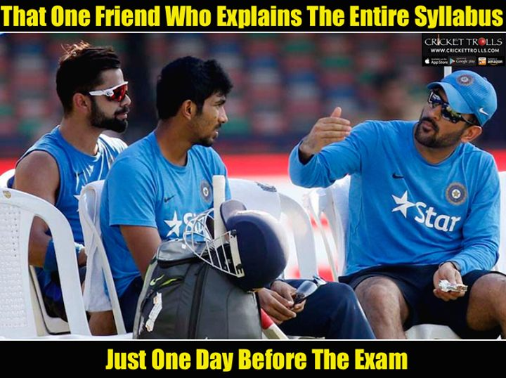 True Story :) MS Dhoni Virat Kohli and Jasprit Bumrah For more cricket fun click: http://ift.tt/2gY9BIZ - http://ift.tt/1ZZ3e4d