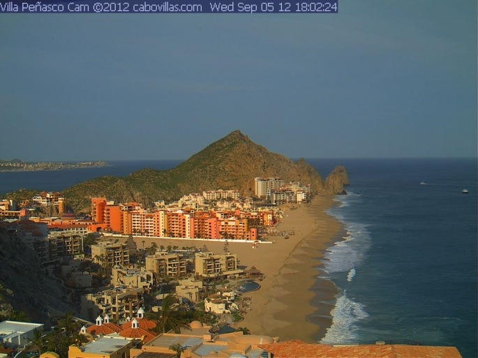 Our newest Cabo San Lucas #Mexico webcam overlooks the Pacific Ocean, beaches, Land's End, Cabo San Lucas Bay & beyond! #Travel