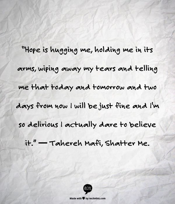 Tahereh Mafi, Shatter Me.   Quotes   Pinterest   Sleeping at Last ...