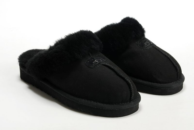 Size 8  Ugg 5125 wool slippers top new arrival - black Modern Genuine UGG Slippers On Sale UGG slipper003