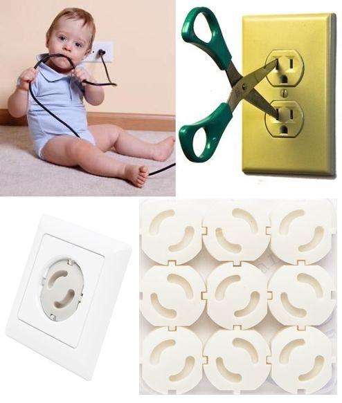 Baba biztonság! Megakadályozza, hogy a kisgyermek belenyúljon, vagy hogy valamit belenyomjon a konnektorba. Alkalmazásával nagyon egyszerűen...