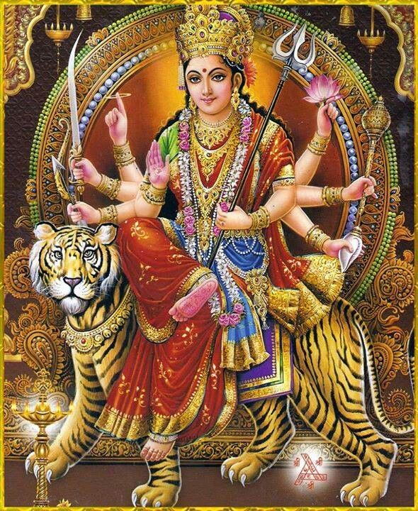 Maa Durga, also known as Parvati is the consort of Lord Shiva. It is said that the Goddess Shakti takes on different forms such as Kali, Chandi or Durga to fight the demons. She is the power behind all creation, preservation and destruction in the Universe