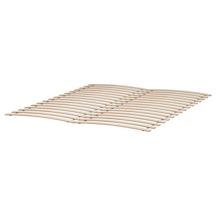 SULTAN LURÖY Slatted bed base - Queen - IKEA - goes with the iron bed