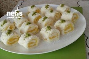 Az Malzemeli Portakallı Lokum (Krem Şantisiz ) Tarifi