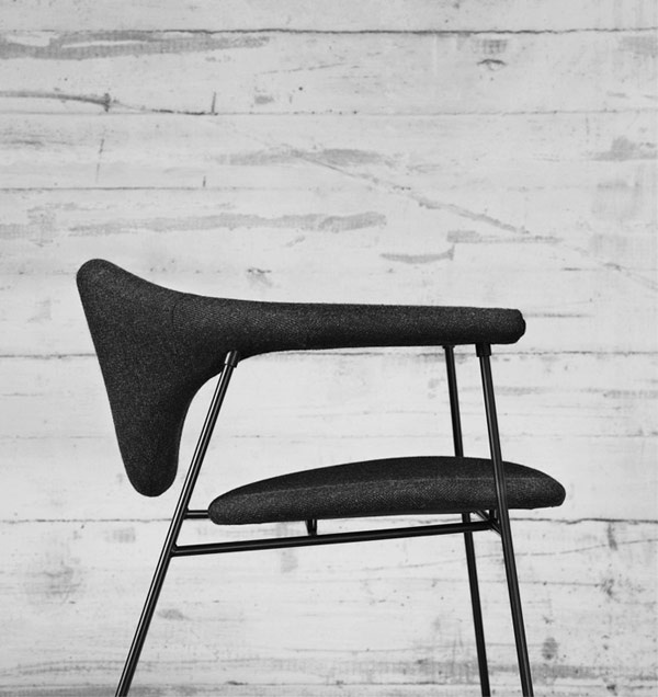 Masculo chair by Gamfratesi // Gubi