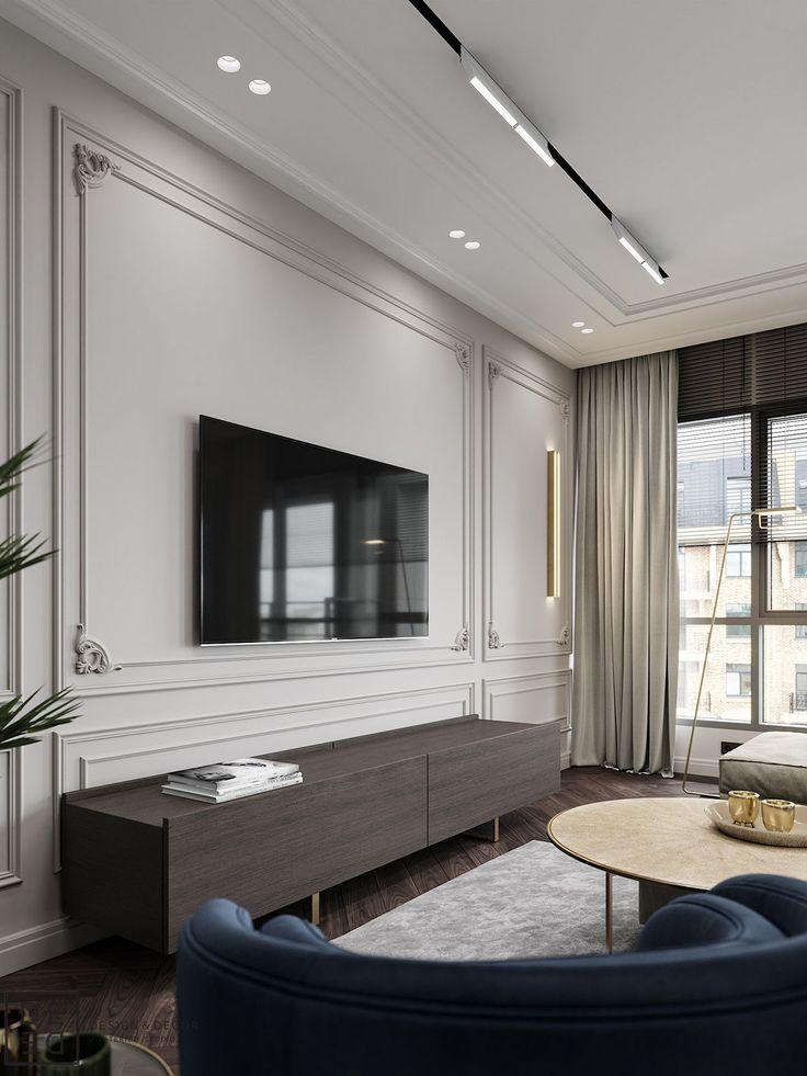Interior Design Tv Room: DE&DE/Blueberry Flat On Behance