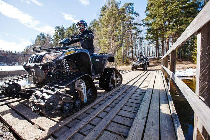ATV safari (Lappeenranta & Imatra region) Picture by: goSaimaa.com/Mikko Nikkinen