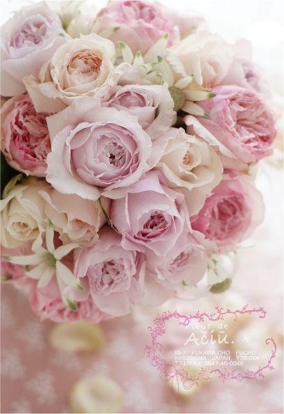 マカロンカラーのブーケ*映画「マリーアントワネット」のイメージで : Fleur de Aciu.