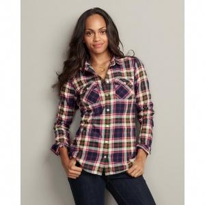 Eddie Bauer Womens Flannel Shirt